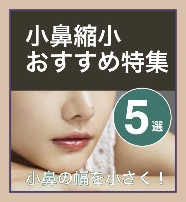 【小鼻の幅を小さく】人気・おすすめのキャンペーン!小鼻縮小特集5選の画像1枚目